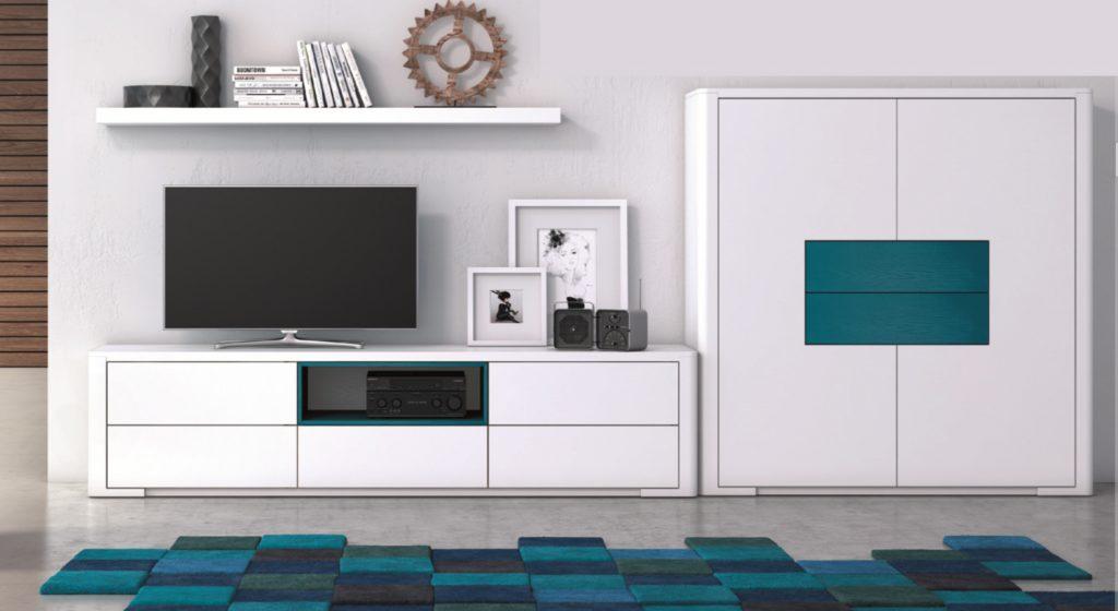 Móvel TV, prateleira e móvel bar