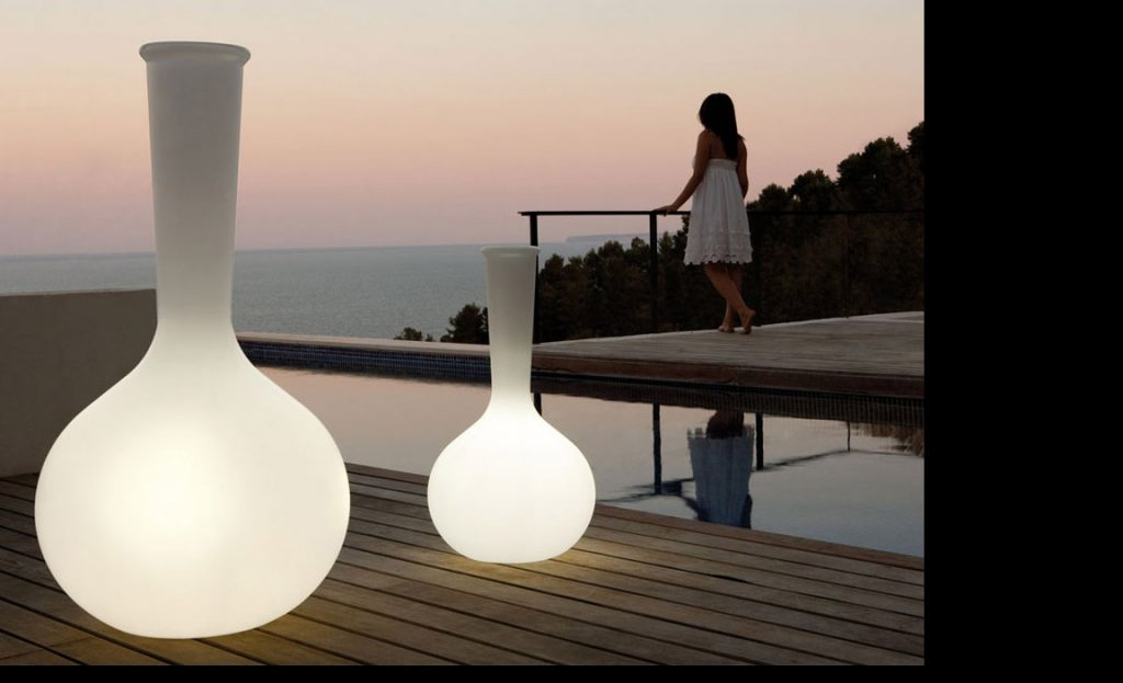 Vasos iluminados Chemistubes